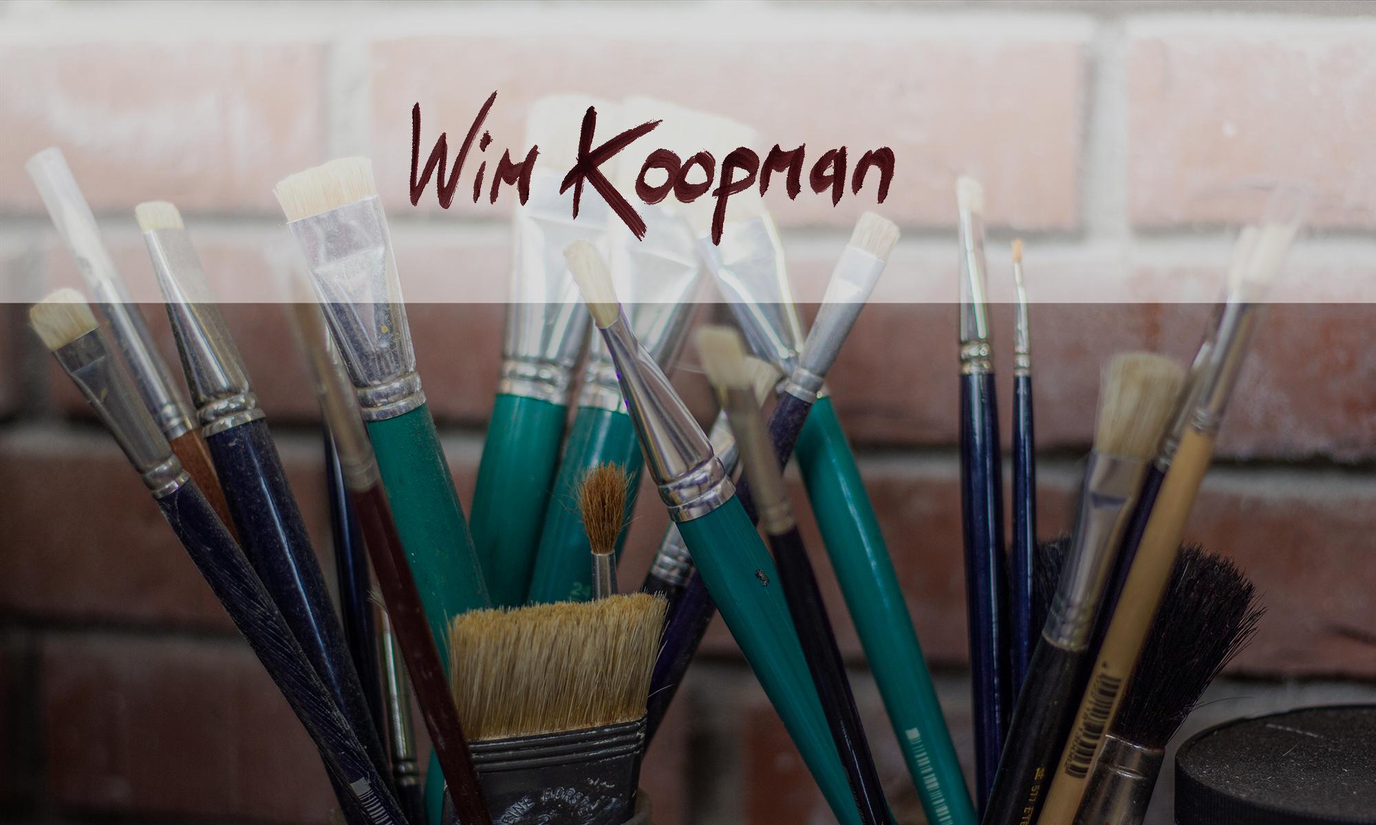 Wim Koopman - Olieverfschilderijen